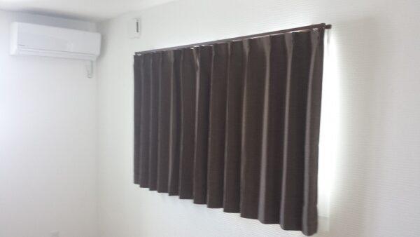 カーテン1つでお部屋の温度が変わる。