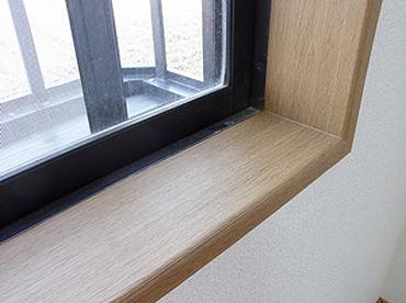 傷んだ窓枠もダイノックシートできれいになります