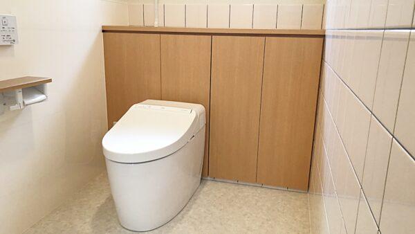 機能性アップ!掃除がしやすいトイレ!