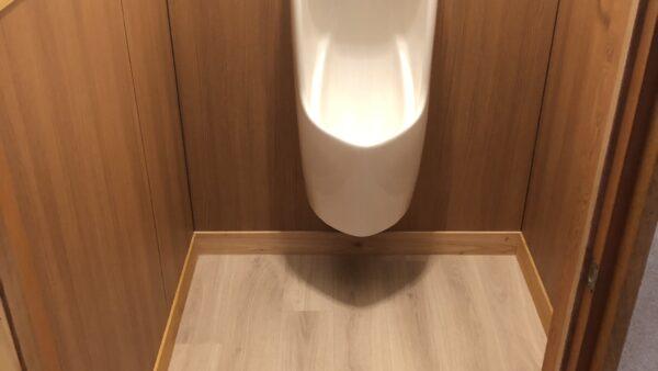 トイレ掃除が楽チンに!