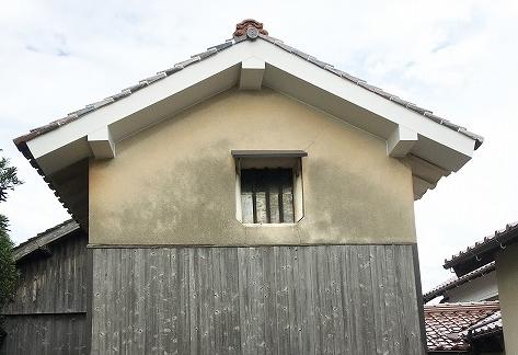 蔵の雨漏り修繕